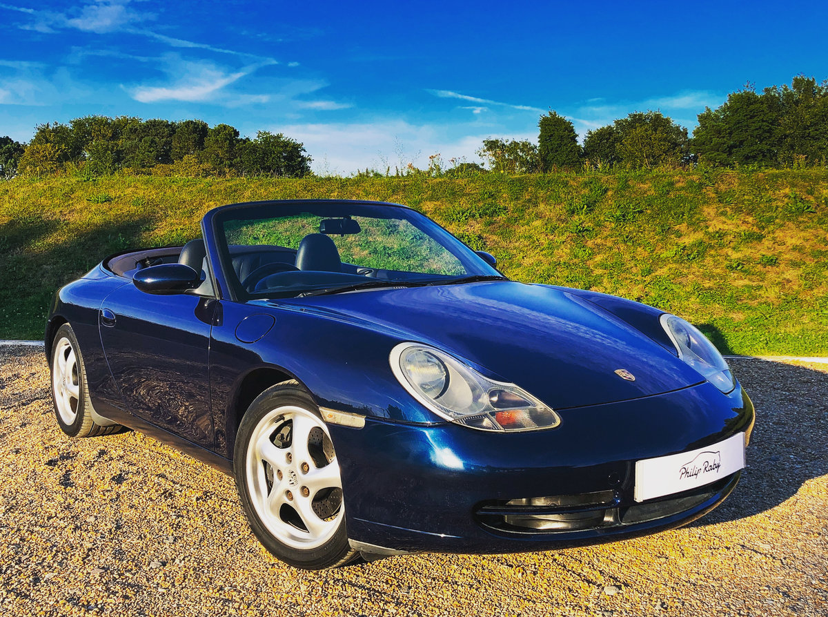 Porsche 996 Carrera Cabriolet, main dealer maintained! 1999 SOLD (picture 1 of 6)