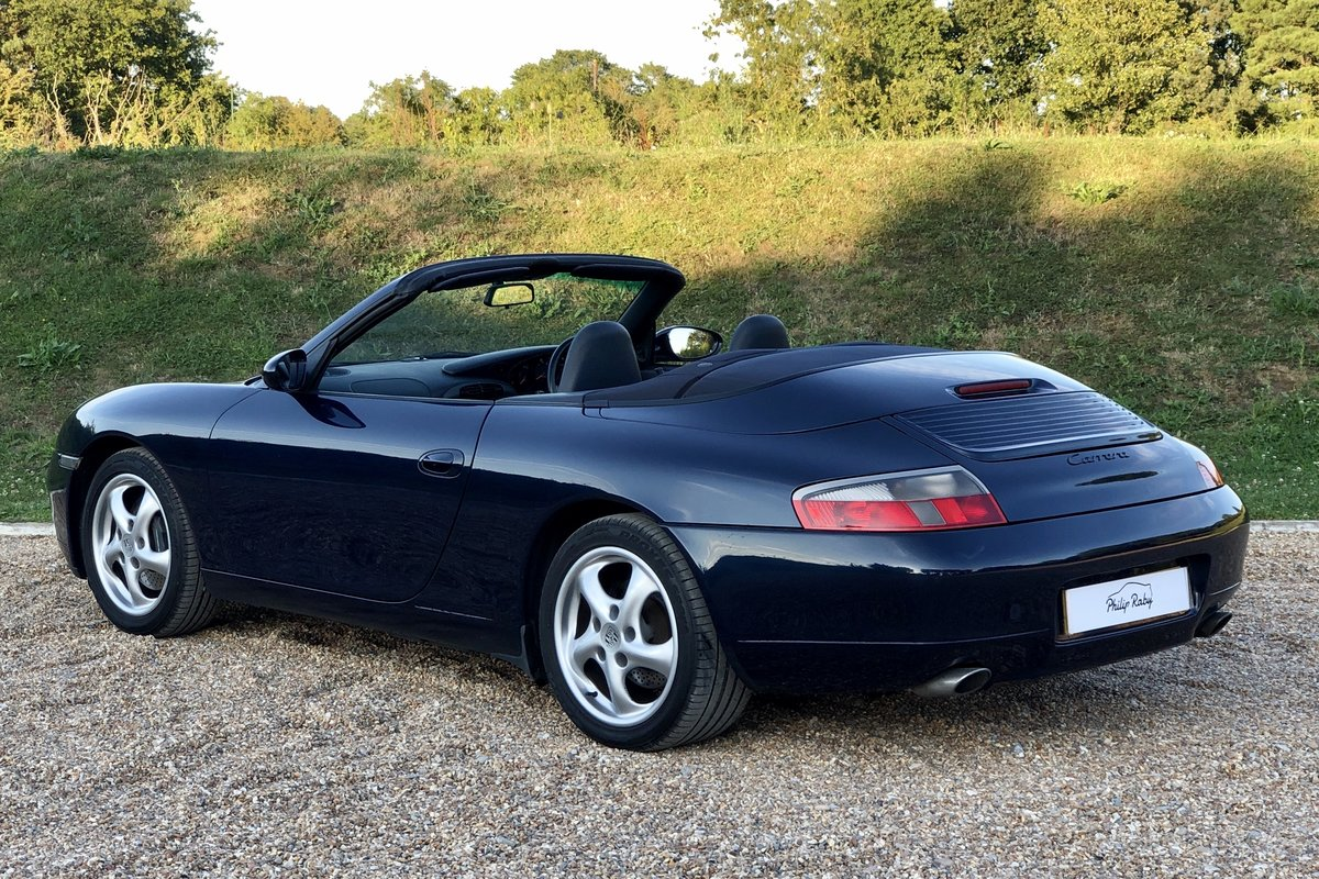 Porsche 996 Carrera Cabriolet, main dealer maintained! 1999 SOLD (picture 2 of 6)
