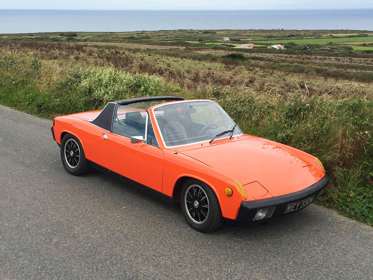 1974 Porsche 914 SOLD (picture 1 of 6)