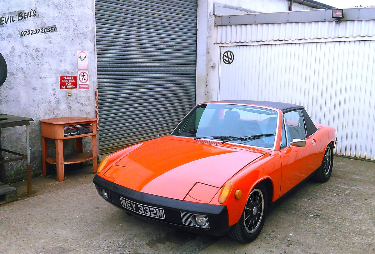 1974 Porsche 914 SOLD (picture 2 of 6)