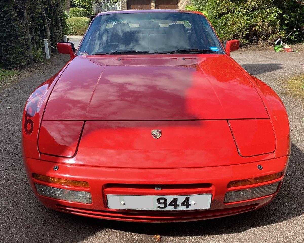 """1988 Genuine Porsche 944 Turbo S """"Silver Rose"""" For Sale (picture 3 of 4)"""