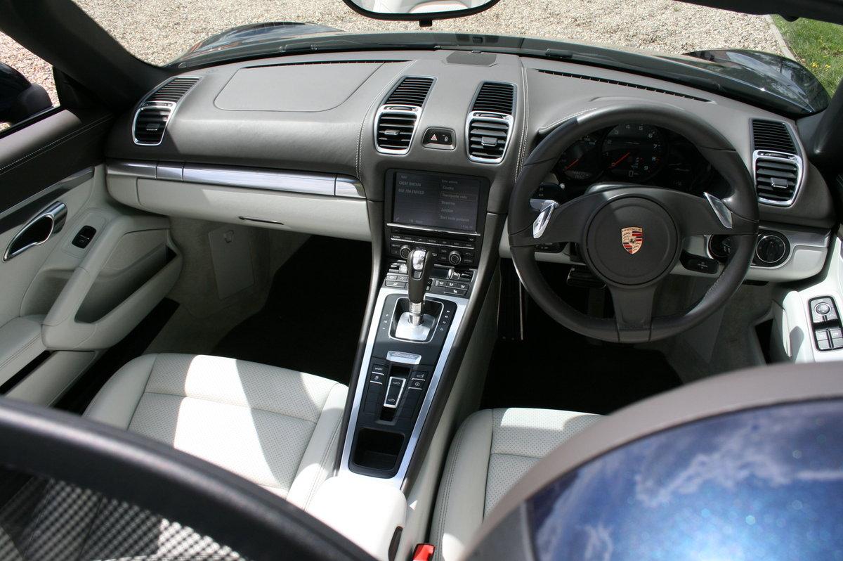 2013 Porsche Boxster 2.7 265bhp PDK Auto. Fabulous Condition For Sale (picture 6 of 6)