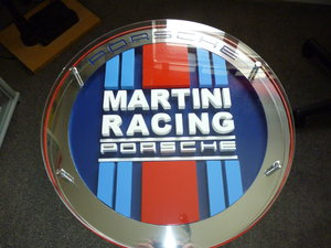 Porsche Martini Racing Table.