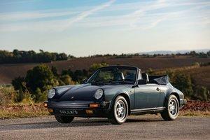 1986 Porsche 911 Carrera 3.2 SC cabriolet - No reserve For Sale by Auction
