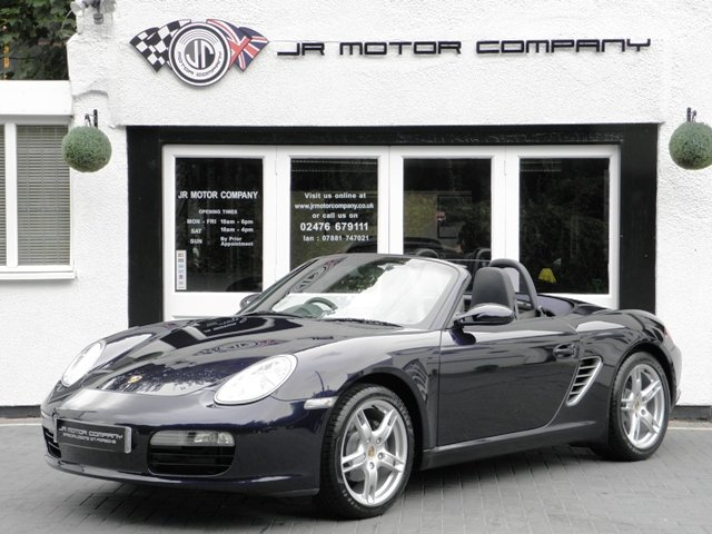 2005 Porsche Boxster 2.7 Tiptronic S 1 Owner only 23000 Miles! SOLD (picture 1 of 6)