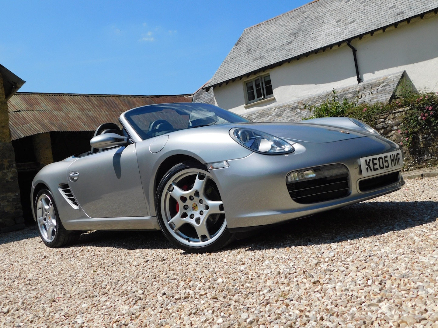 2005 Porsche 987 Boxster 3.2 S - superb order, FSH, high spec For Sale (picture 1 of 6)