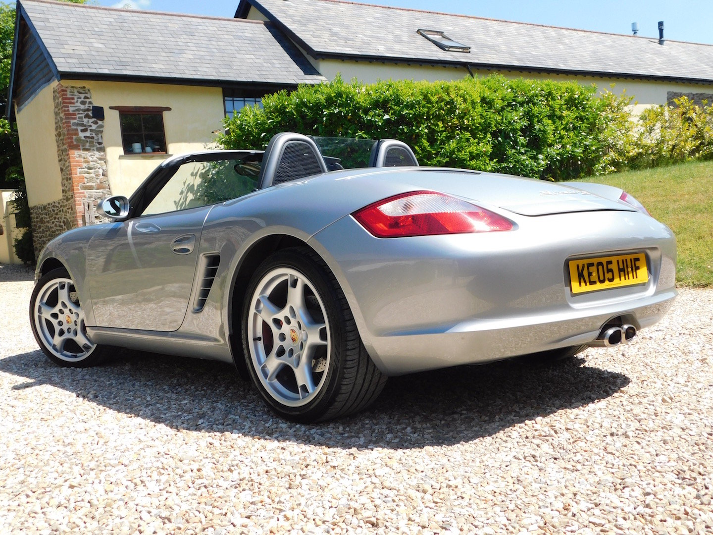 2005 Porsche 987 Boxster 3.2 S - superb order, FSH, high spec For Sale (picture 3 of 6)