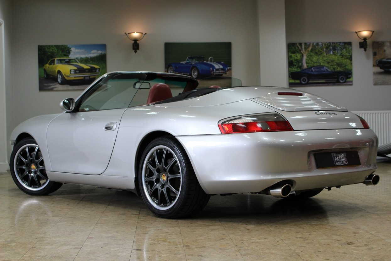 1999 Porsche 911 996 Carrera C2 Cabriolet Manual | Hardtop  For Sale (picture 4 of 10)