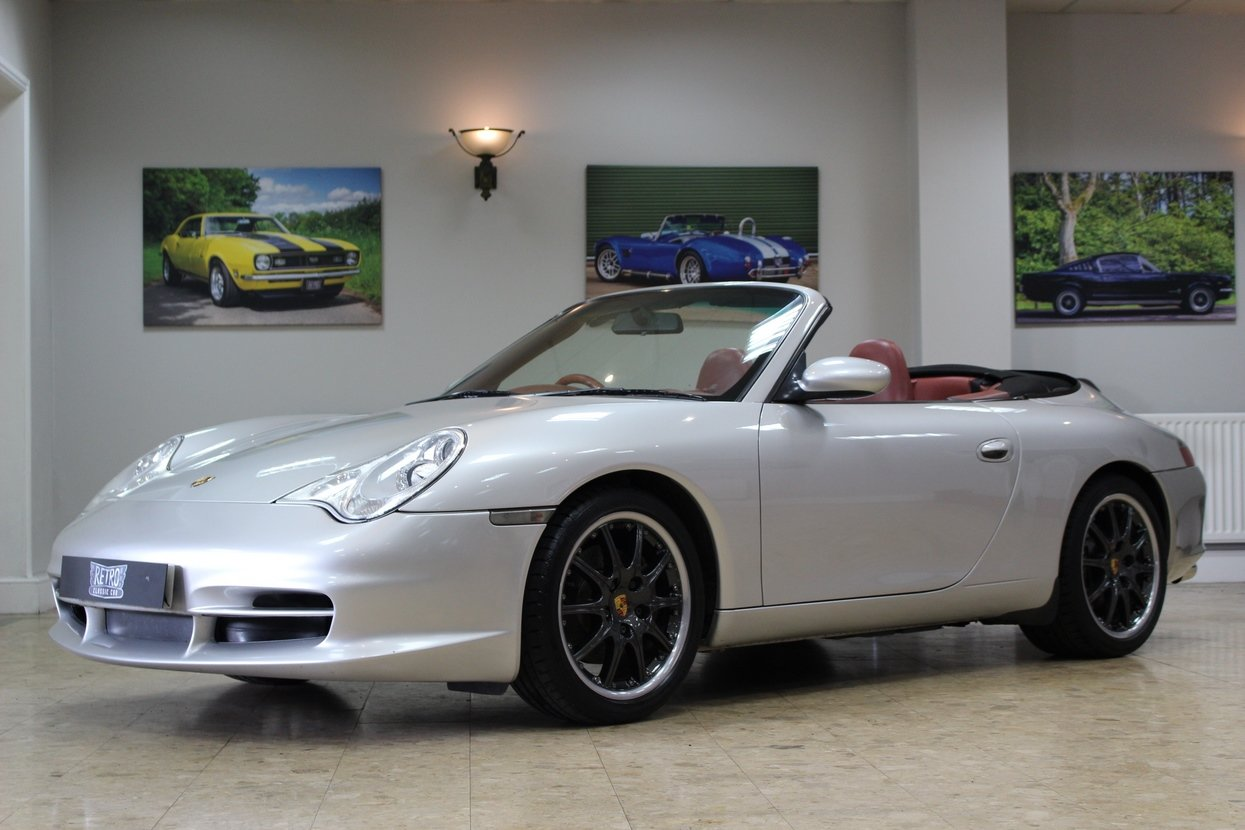 1999 Porsche 911 996 Carrera C2 Cabriolet Manual | Hardtop  For Sale (picture 1 of 10)