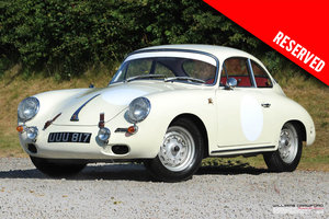 1963 RESERVED - Porsche 356 B T6 1600 coupe by Karmann