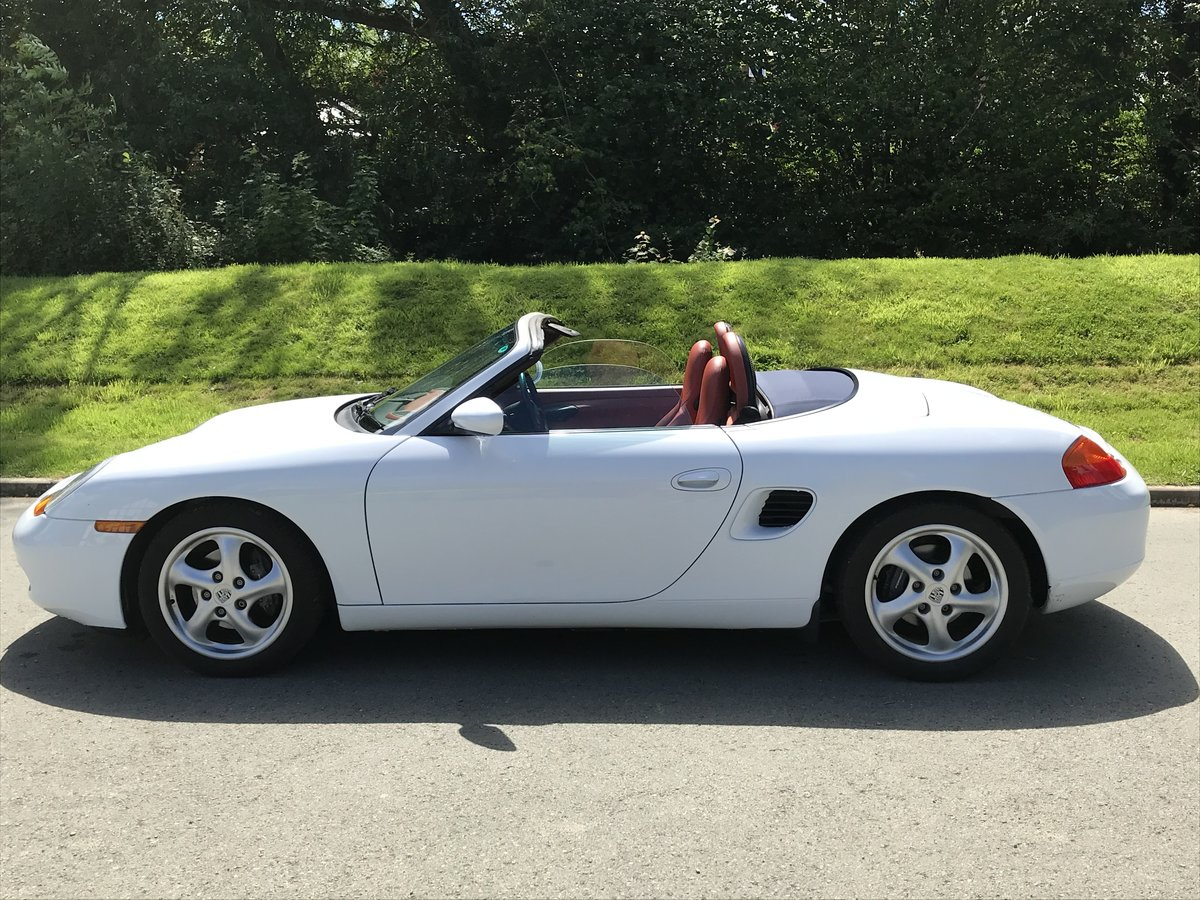 1999 Boxster 2.5 only 7,500 miles from new.  SOLD (picture 4 of 6)