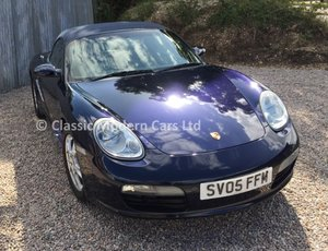 Porsche Boxster 987 2.7 Manual, LOW Miles 33K - ULEZ,