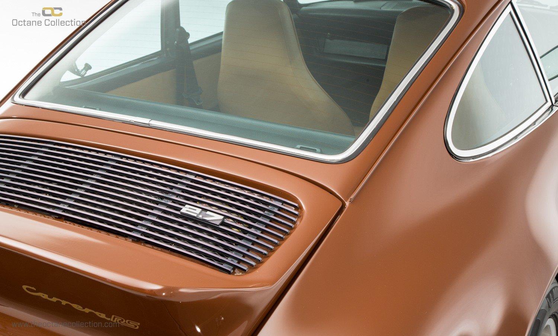1973 PORSCHE 911 CARRERA 2.7 MFI // UK RHD // BITTER CHOCOLATE For Sale (picture 9 of 23)