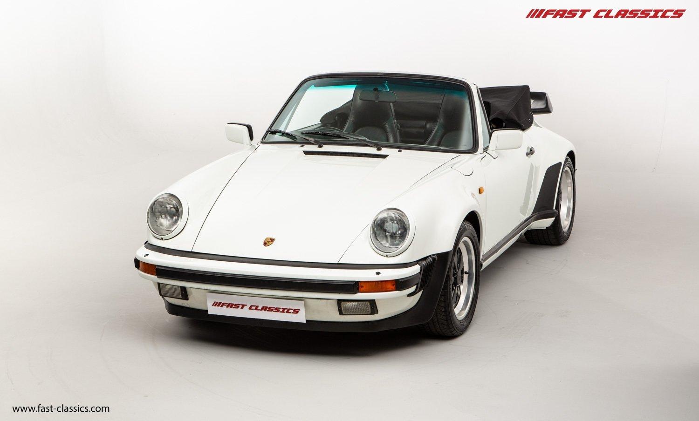 1986 PORSCHE 911 SUPERSPORT CAB // C16 UK RHD // GRAND PRIX WHITE For Sale (picture 3 of 23)