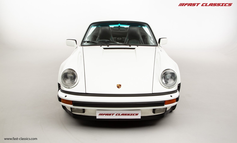 1986 PORSCHE 911 SUPERSPORT CAB // C16 UK RHD // GRAND PRIX WHITE For Sale (picture 4 of 23)