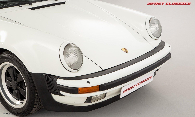 1986 PORSCHE 911 SUPERSPORT CAB // C16 UK RHD // GRAND PRIX WHITE For Sale (picture 6 of 23)