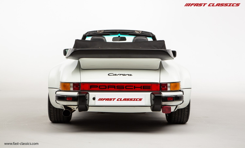 1986 PORSCHE 911 SUPERSPORT CAB // C16 UK RHD // GRAND PRIX WHITE For Sale (picture 12 of 23)