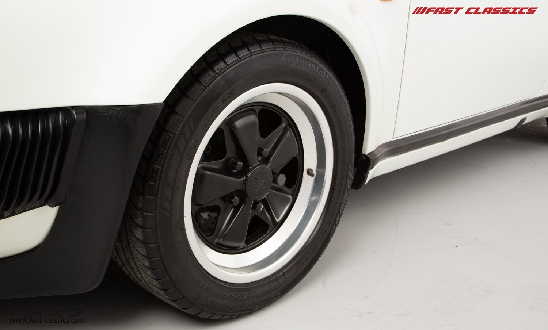 1986 PORSCHE 911 SUPERSPORT CAB // C16 UK RHD // GRAND PRIX WHITE For Sale (picture 20 of 23)