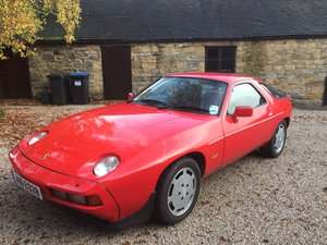Porsche 928 S2, 5 speed manual, 1986,