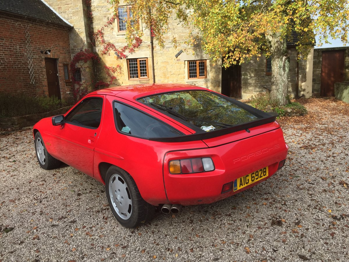 Porsche 928 S2, 5 speed manual, 1986, For Sale (picture 5 of 6)