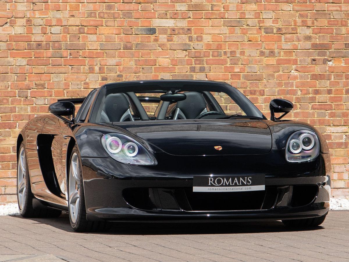 2004 Porsche Carrera GT For Sale (picture 1 of 6)
