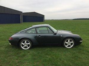 1995 Porsche 993 Carrera Coupe Manual