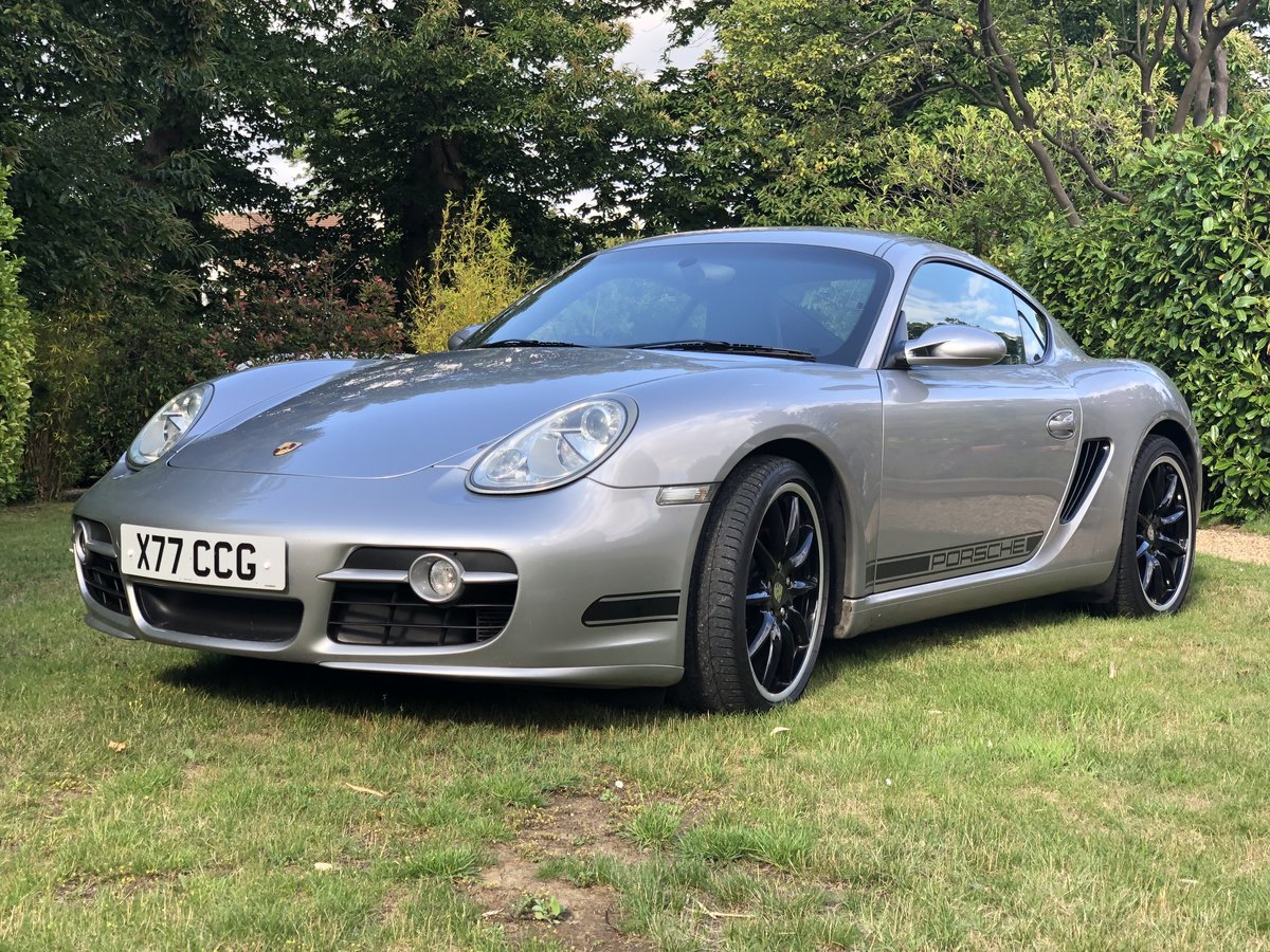 2008 Porsche Cayman 3.4 S Manual Mint Condition SOLD (picture 1 of 6)