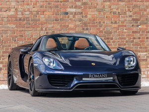 Picture of 2015 Porsche 918 Spyder Weissach SOLD