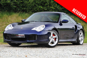(2001 MY) RESERVED - Porsche 996 Turbo manual coupe
