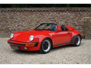 1989 Porsche 911 Speedster Only two owners, only 29.000 KMS