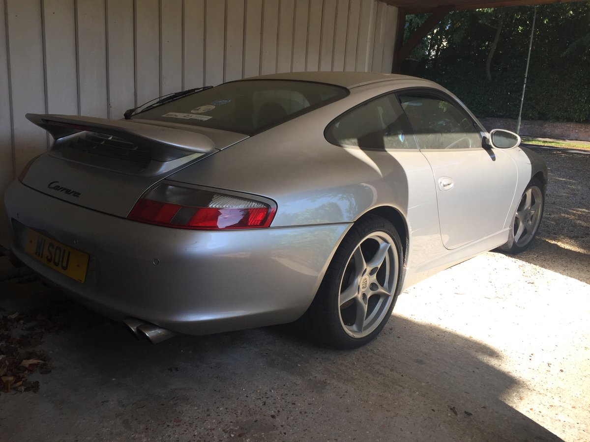 2003 Porsche 911 Carrera 3.6, 2WD, Manual - Project! SOLD (picture 5 of 6)