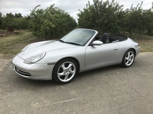 Porsche 996 Carerra 4 Convertible Low Mileage