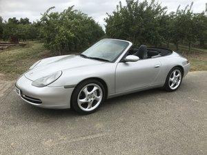 2001 Porsche 996 Carerra 4 Convertible Low Mileage