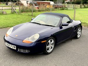 *TIME WARP* PORSCHE BOXSTER 2.7 MANUAL /64k Miles/