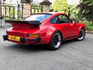 Porsche 911 930 G Turbo replica