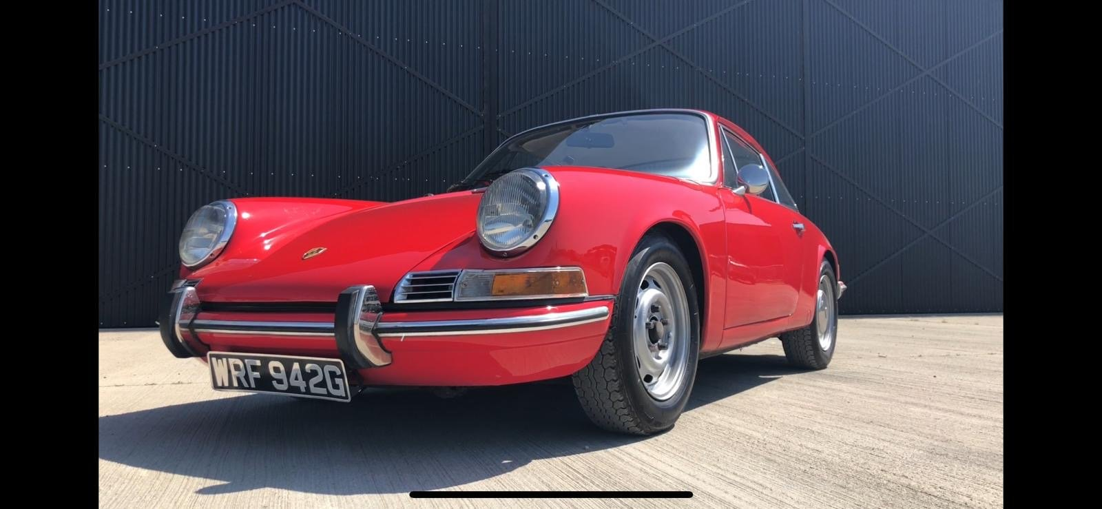Porsche 911T RHD 1969 Sportamatic Coupe Red For Sale (picture 1 of 9)