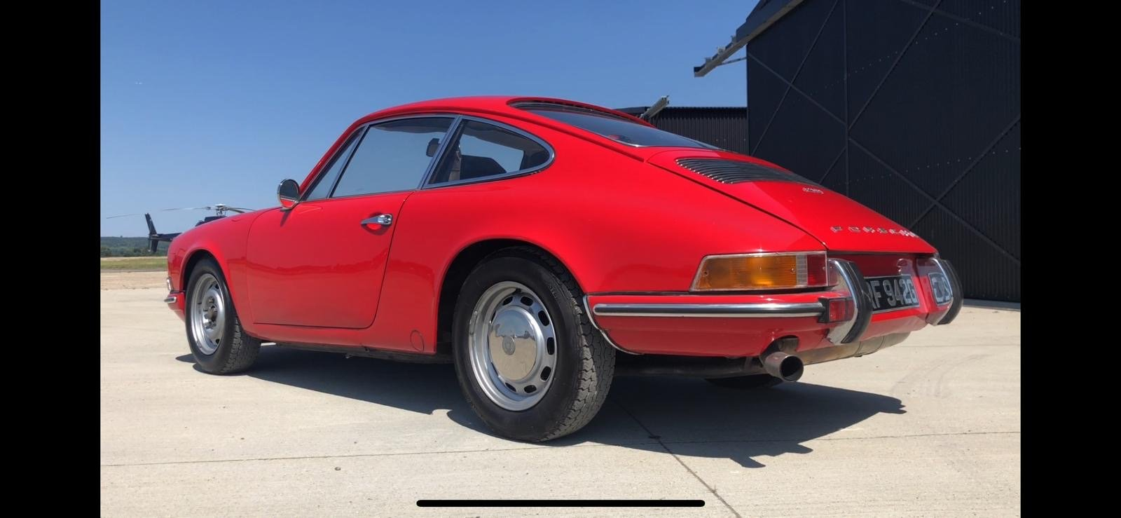 Porsche 911T RHD 1969 Sportamatic Coupe Red For Sale (picture 2 of 9)
