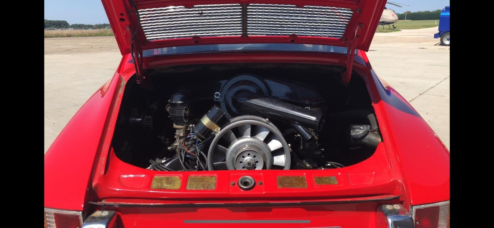 Porsche 911T RHD 1969 Sportamatic Coupe Red For Sale (picture 3 of 9)