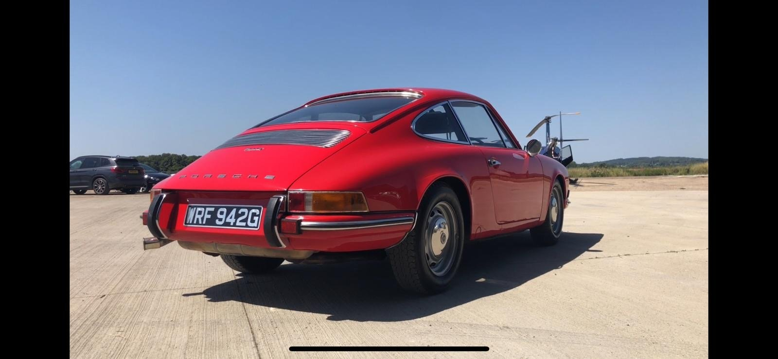 Porsche 911T RHD 1969 Sportamatic Coupe Red For Sale (picture 4 of 9)