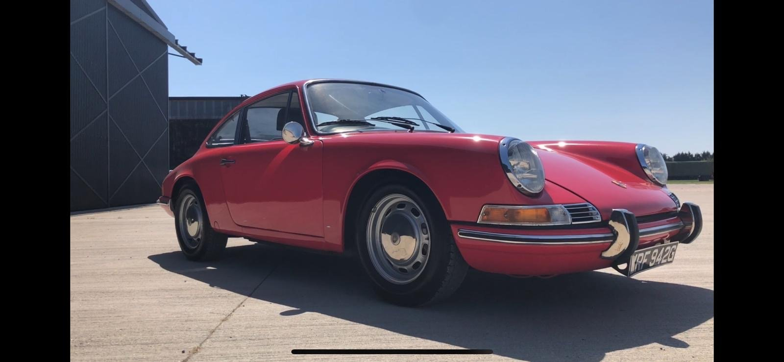 Porsche 911T RHD 1969 Sportamatic Coupe Red For Sale (picture 7 of 9)