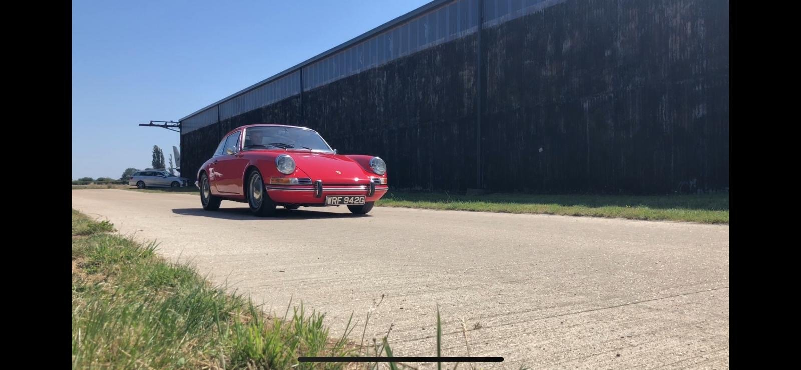 Porsche 911T RHD 1969 Sportamatic Coupe Red For Sale (picture 8 of 9)
