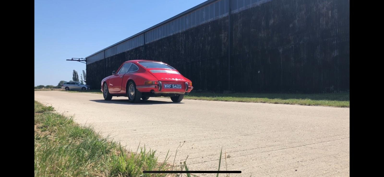 Porsche 911T RHD 1969 Sportamatic Coupe Red For Sale (picture 9 of 9)