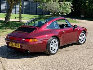 1996 Porsche 993 Targa - immaculate and original