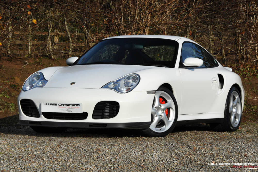 2002 Porsche 996 Turbo Tiptronic S coupe SOLD (picture 1 of 6)