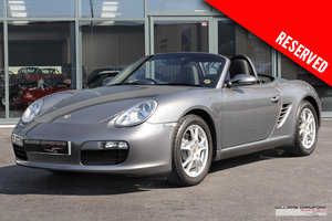 (2007 MY) RESERVED - Porsche 987 Boxster manual