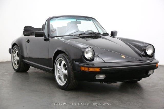 1985 Porsche Carrera Cabriolet For Sale (picture 1 of 6)
