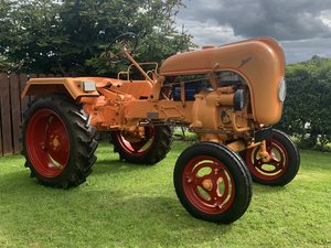 1950 Porsche 111 single cylinder diesel tractor