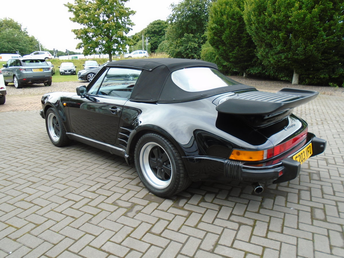 1987 911 Carrera  Wide Body For Sale (picture 2 of 6)
