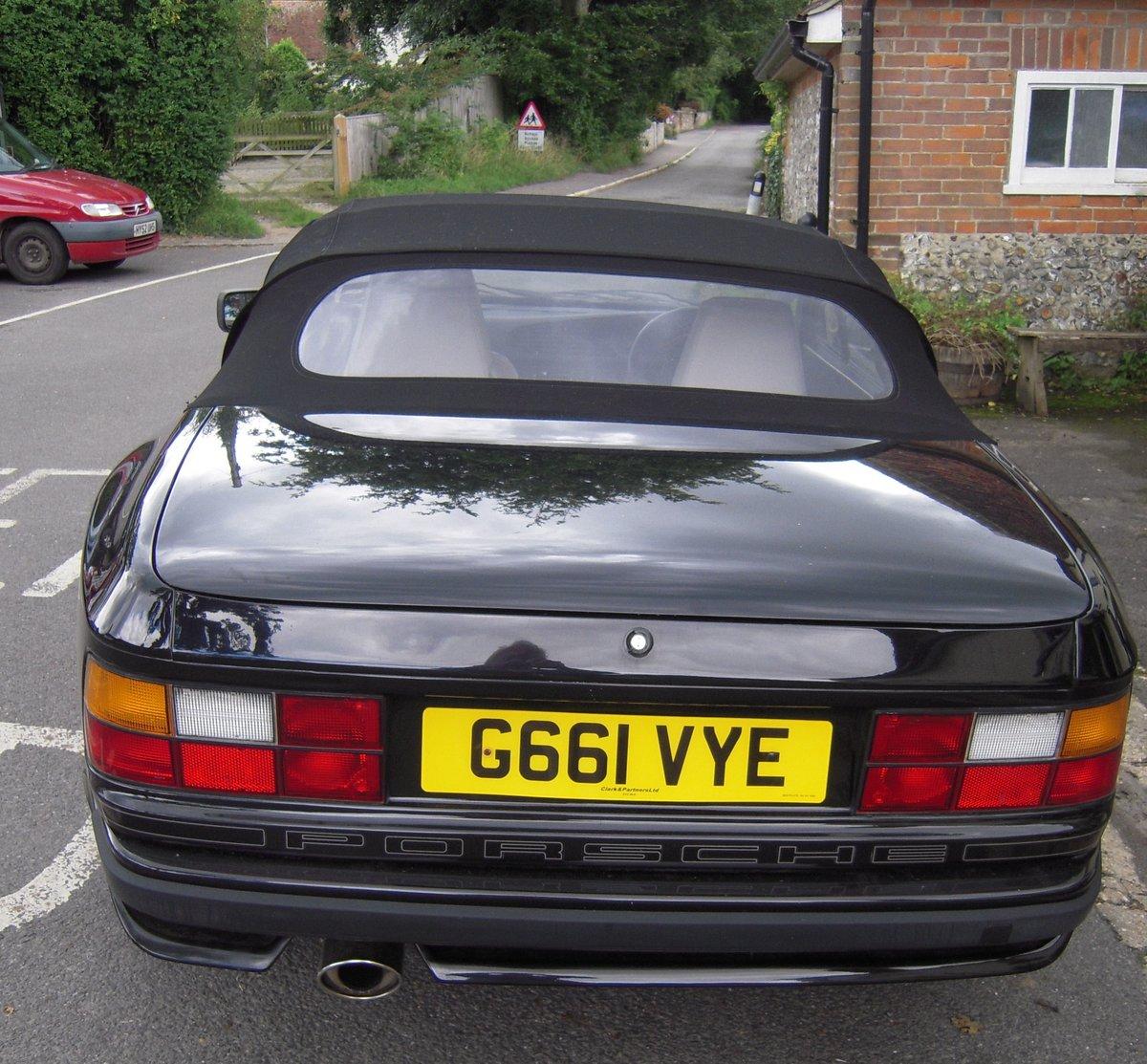1990 PORSCHE 944 S2 CABRIOLET  For Sale (picture 4 of 6)