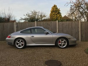 2002 Porsche 911 Carrera 4S manual